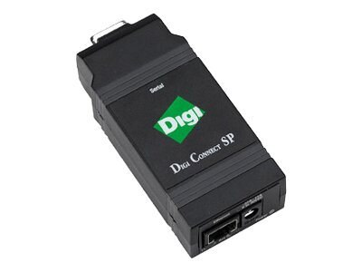Digi 1pt. Serial to Ethernet Device Server, DC-SP-01R-S