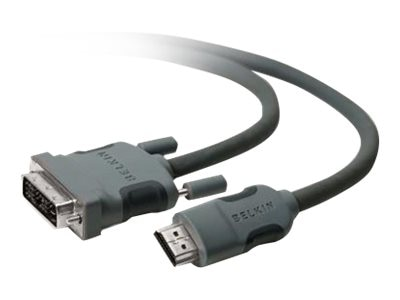 Belkin HDMI to DVI (M-M) Display Cable, 10ft, F2E8242B10