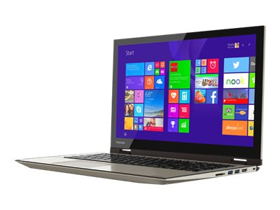 Toshiba Satellite Fusion 15 L55W-C5256 Core i5-5200U 2.2GHz 8GB 1TB ac BT WC 15.6 HD MT W10H, PSLRAU-002008, 22521755, Notebooks - Convertible