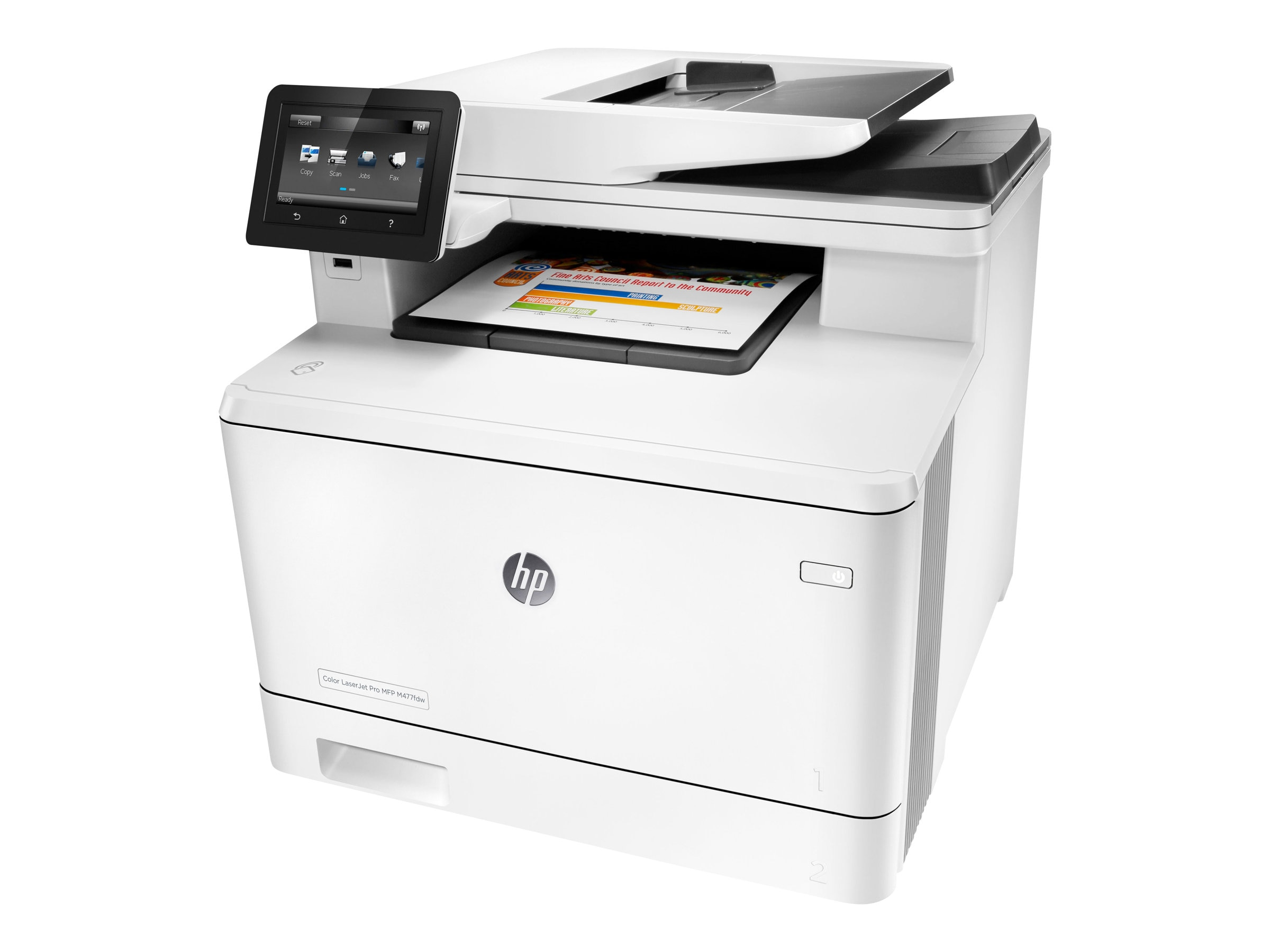 HP Color LaserJet Pro MFP M477fdw ($629 - $200 Instant Rebate = $429 Expires 4 30 2016), CF379A#BGJ, 30660405, MultiFunction - Laser (color)