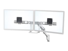 Ergotron HX Wall Dual Monitor Arm, Polished Aluminum, 45-479-026, 33540599, Stands & Mounts - AV