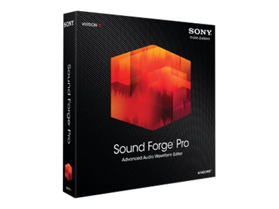 Sony Sound Forge 11.0 Pro for Windows, SF11000