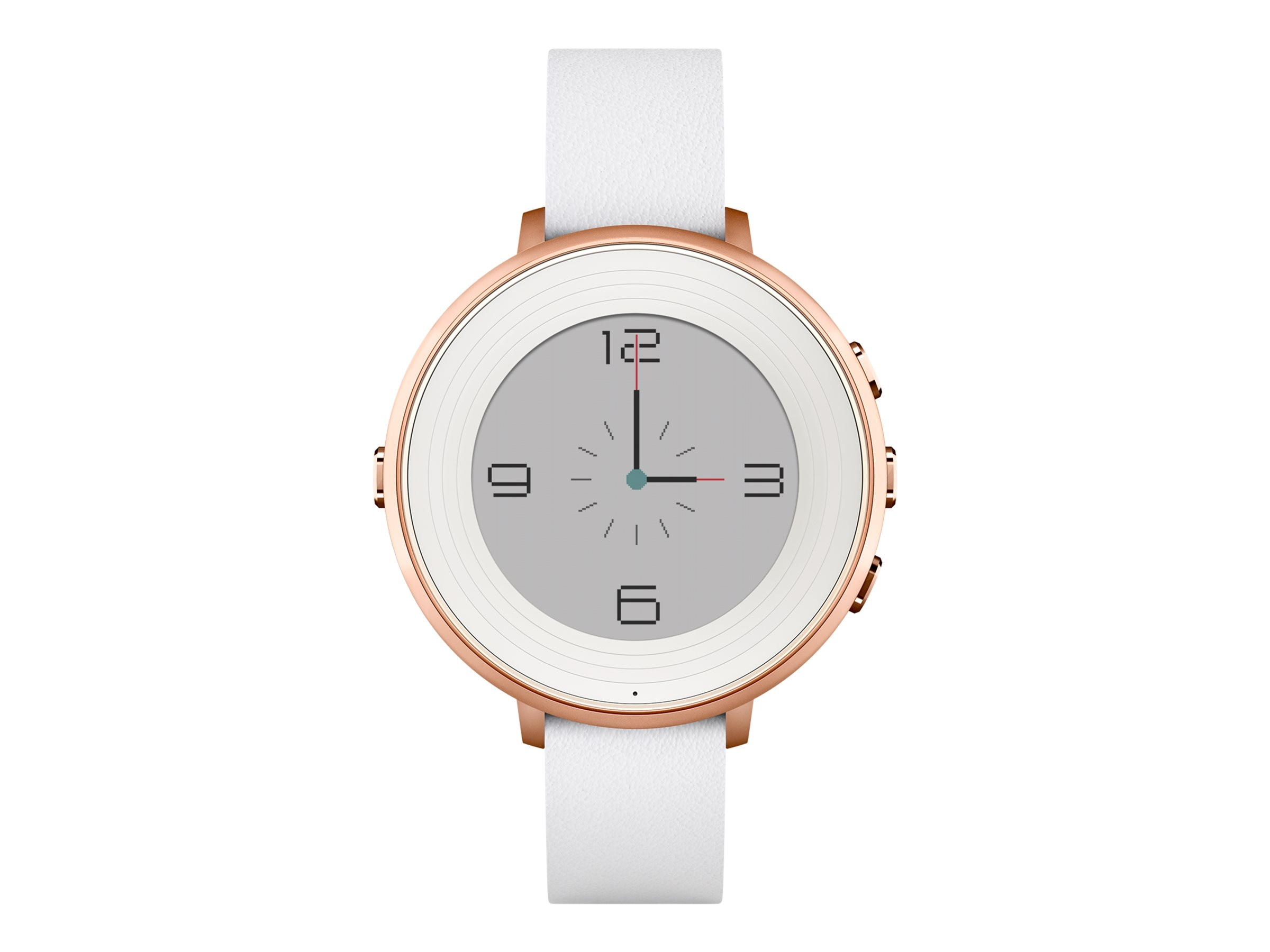 Pebble Round S4.0 Smartwatch, Rose Gold, 14mm, 601-00047