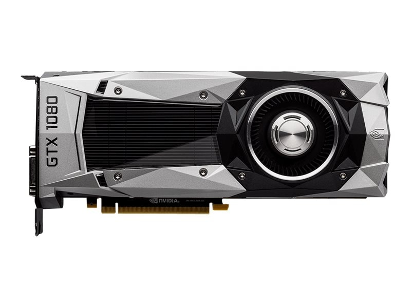 Gigabyte Tech GeForce GTX 1080 PCIe 3.0 x16 Graphics Card, 8GB GDDR5X, GV-N1080D5X-8GD-B