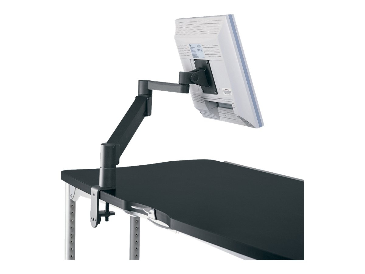 Ergotron Flat Panel Monitor Arm, Standard, Black, LCDBK, 431281, Furniture - Miscellaneous