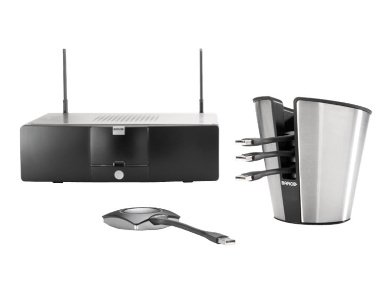 Barco Clickshare Wireless Presentation System Package, R9861005NA, 17021941, Audio/Video Conference Hardware