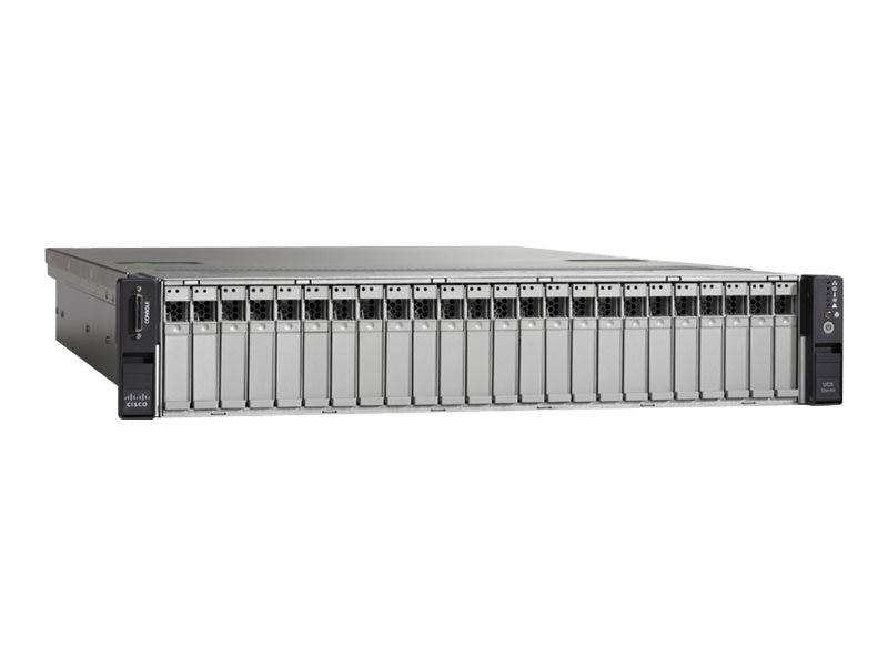 Cisco UCS C240 M3 2U RM (2x) Xeon 8C E5-2650 v2 2.6GHz 16GB 24x2.5 Bays 2x650W Rail Kit NoOS