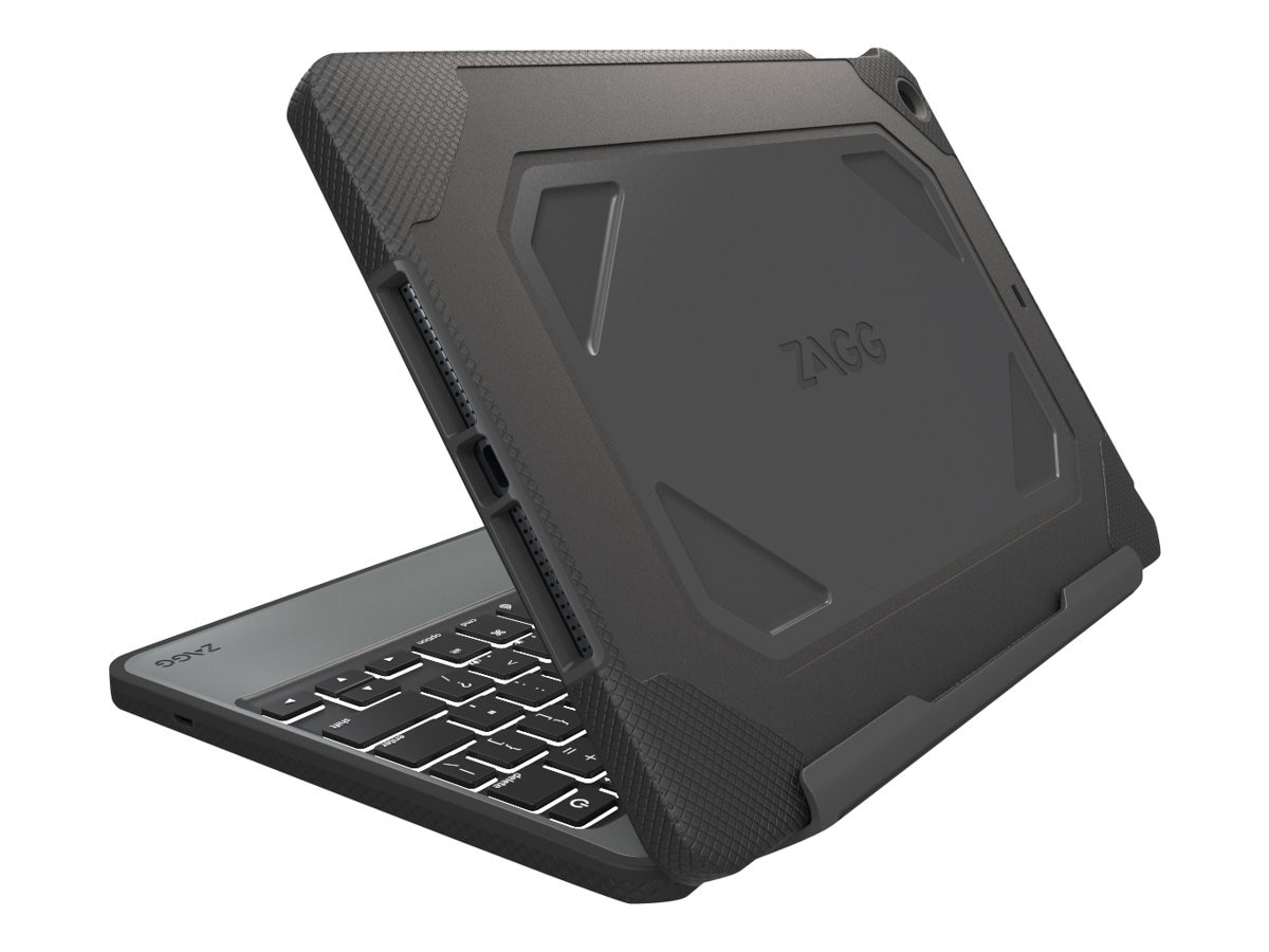 Zagg Rugged Keyboard for iPad mini 4, IM4RGK-BB0