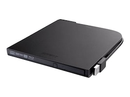 BUFFALO MediaStation Portable BDXL Blu-ray Writer, BRXL-PT6U2VB, 18440506, Blu-Ray Drives - External