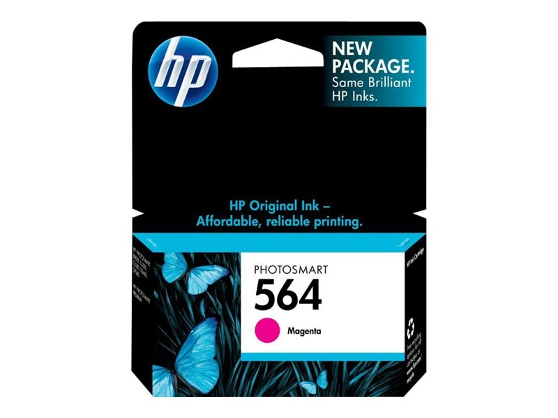 HP 564 (CB319WN) Magenta Original Ink Cartridge for HP PhotoSmart D5400 Printers