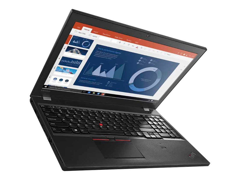 Lenovo TopSeller ThinkPad T560 2.6GHz Core i7 15.6in display, 20FH002HUS