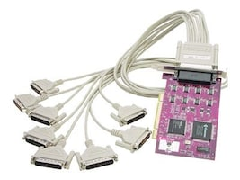 Comtrol RocketPort Universal PCI Octa DB25 8-Port Serial Card w  DB25M Fanout Cable, 99344-5, 6875625, Controller Cards & I/O Boards