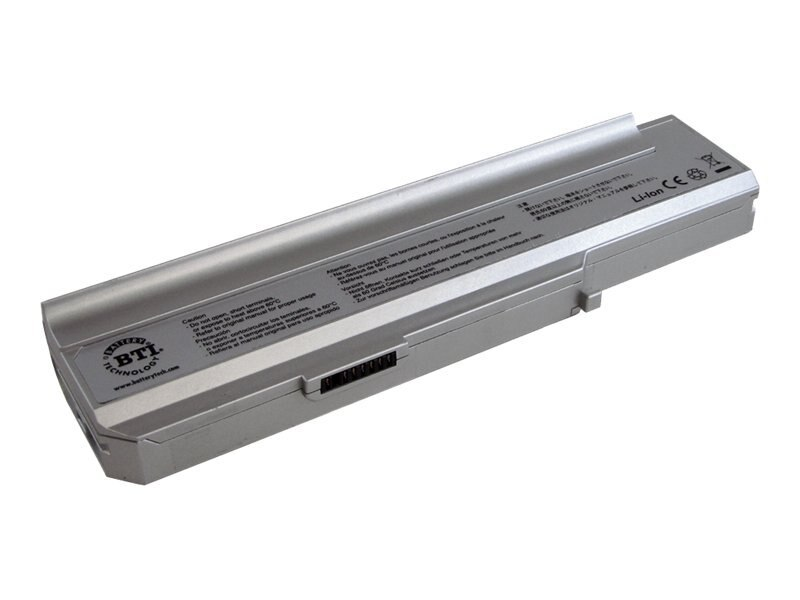 BTI Battery, for Lenovo 3000 N100, N200, C200, Replaces 92P1183, 92P1186, 40Y8315, LN-N100, 7666711, Batteries - Notebook