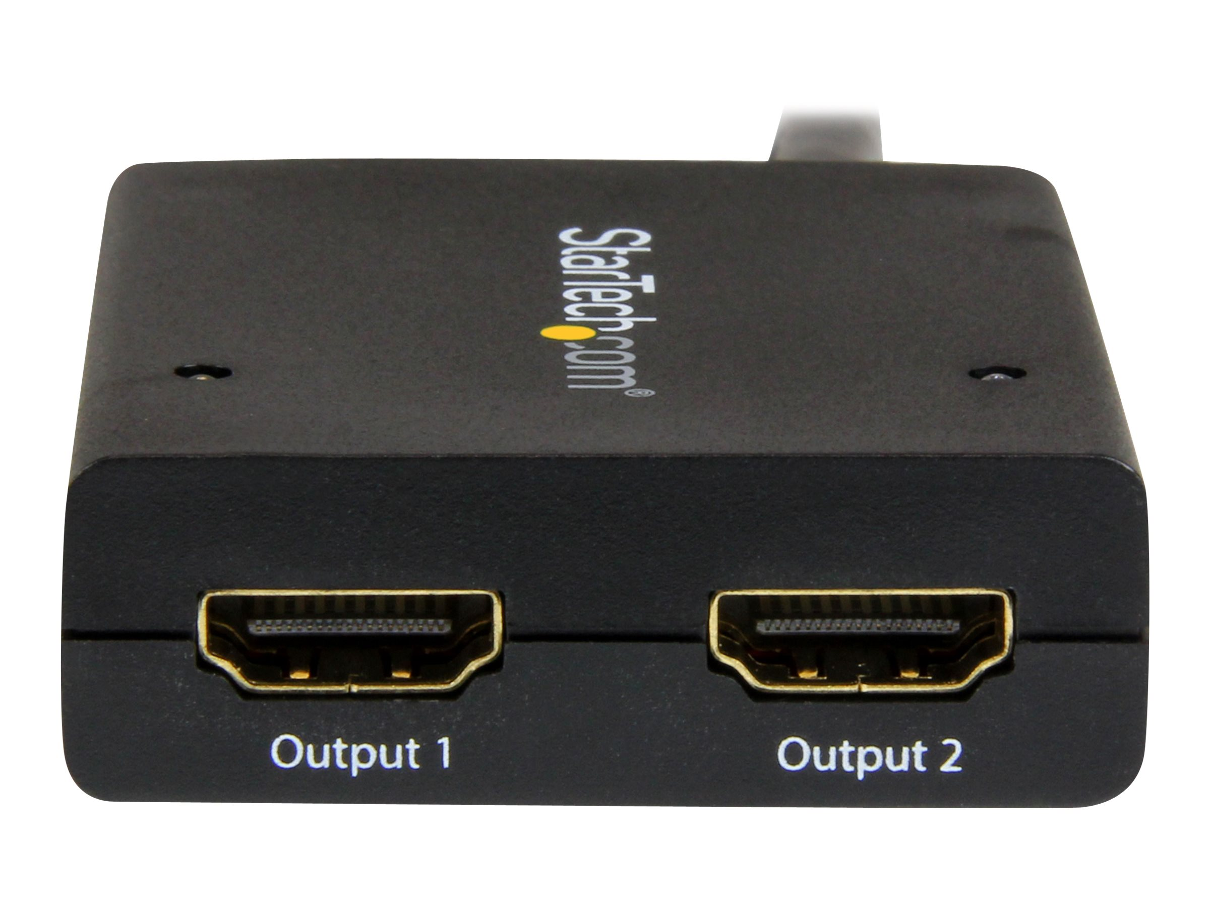 StarTech.com 4K HDMI 2-Port Video Splitter, ST122HD4KU