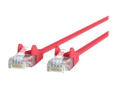 Belkin Cat5e Snagless Patch Cable, Red, 6ft