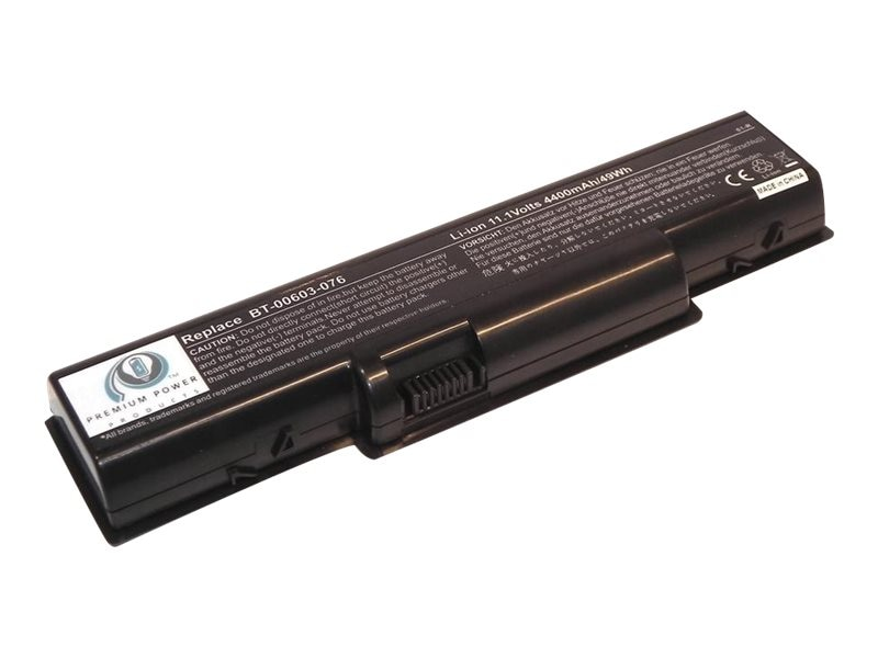 Ereplacements Battery, Li-Ion 11.1V 4400mAh 6-cell for Gateway NV2