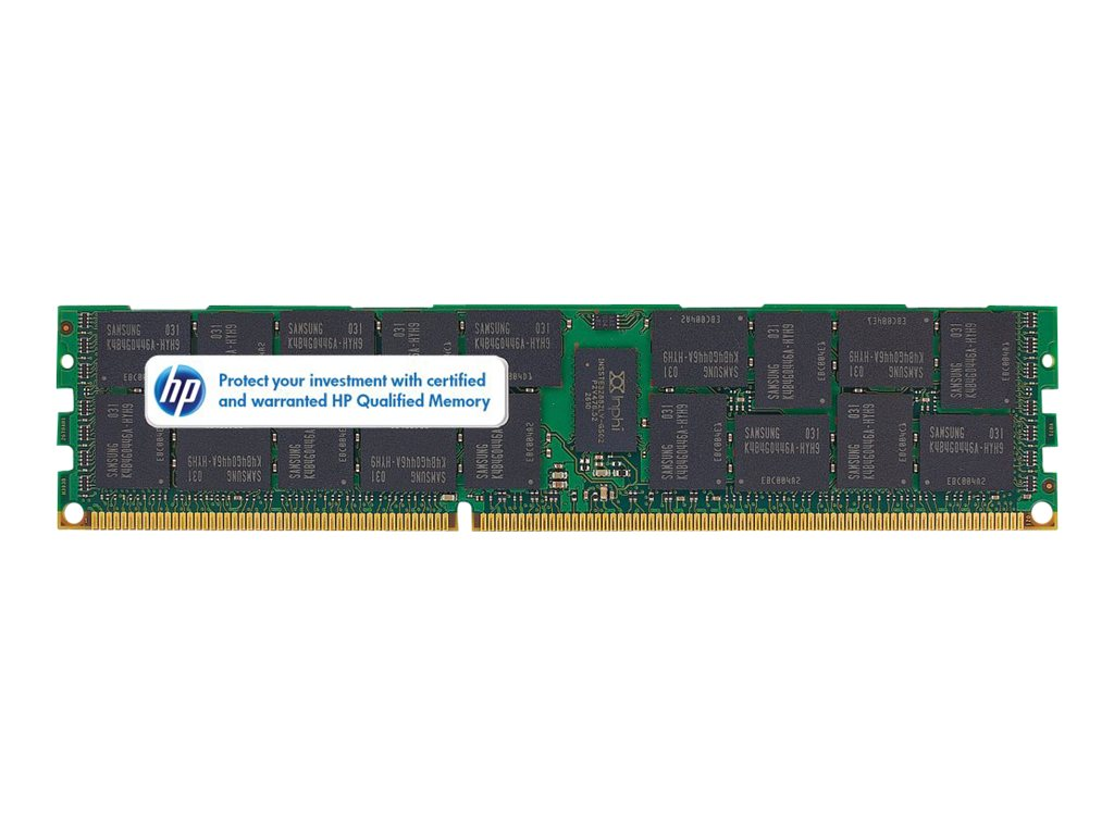 HPE 4GB PC3-10600 DDR3 SDRAM DIMM for Select Proliant Models, 647871-B21, 14368279, Memory
