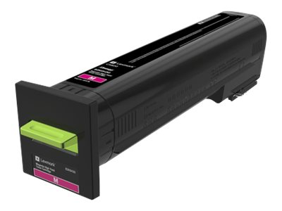 Lexmark Magenta High Yield Toner Cartridge for CX820 Series, 82K0H30