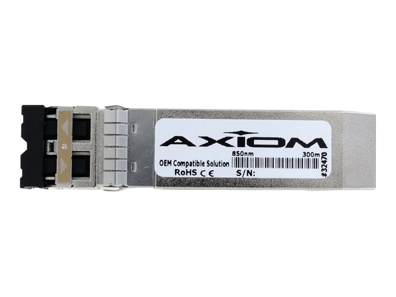Axiom 10GBASE-SR SFP+ Transceiver For Avaya - AA1403015-E6 TAA Compliant, AXG93467
