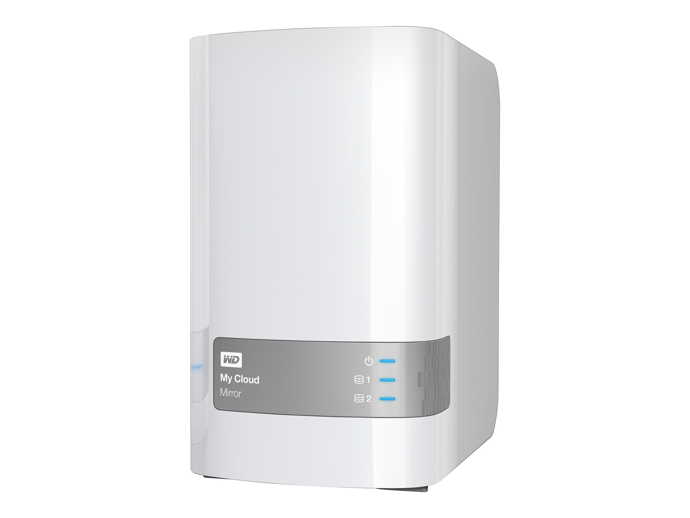 WD 12TB My Cloud Mirror Personal Cloud Storage, WDBZVM0120JWT-NESN, 17841826, Network Attached Storage