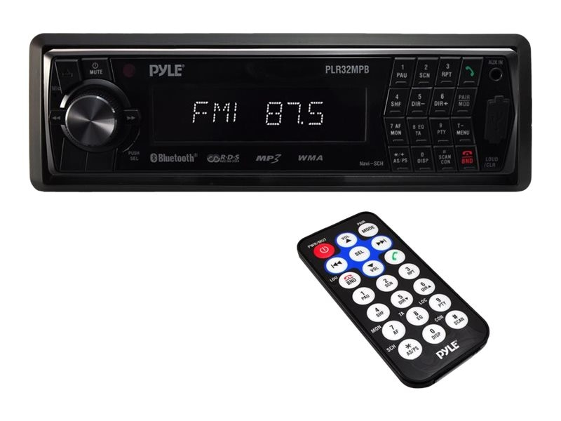 Pyle AM FM-MPX Radio w  SD, USB, MP3 , Playback, AUX In & BT Wireless Streaming, PLR32MPB, 17436302, Stereo Components