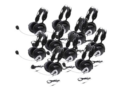 4100 Headsets  w  To Go Plug via ErgoGuys (10-pack), 4100AVT-10L, 20076264, Headsets (w/ microphone)