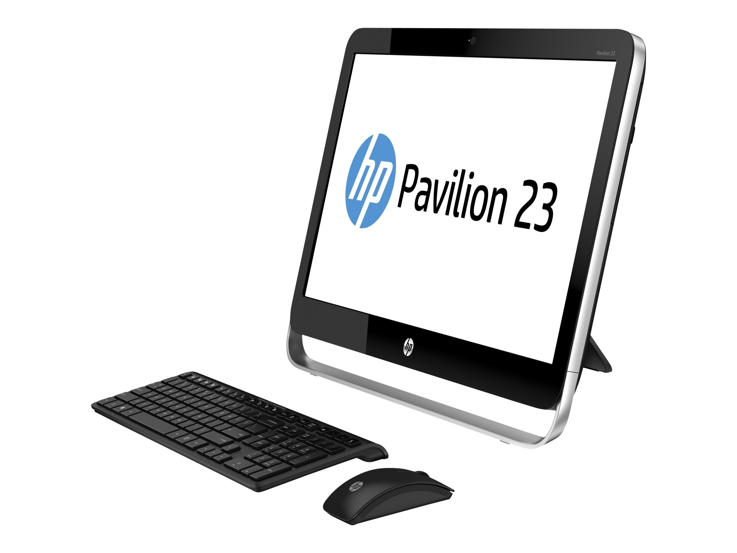 HP Pavilion 23-p112 AIO AMD A8-6410 2.0GHz 4GB 1TB DVD SM GbE abgn BT WC 23 FHD Touch W8.164, J4X01AA#ABA, 17826618, Desktops - All-in-One
