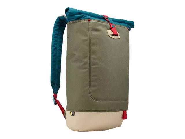 Case Logic Larimer Rolltop Backpack 14, Petrol Green, LARI114PETROL