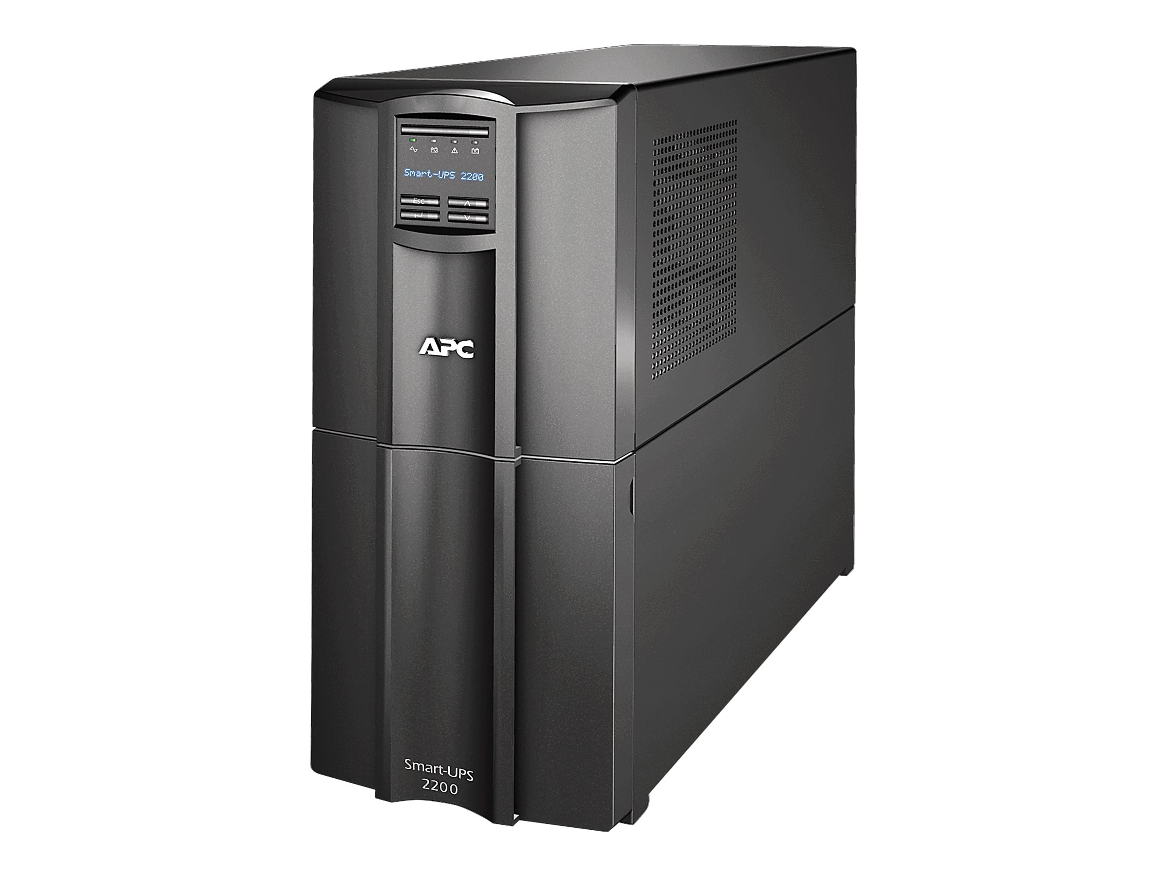 APC Smart-UPS 1920VA 1920W 120V LCD UPS (8) 5-15R (2) 5-20R Outlets Smart-Slot US, SMT2200US