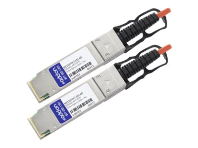 ACP-EP 56GBase-AOC QSFP+ to QSFP+ Multimode Direct Attach Cable for Mellanox, 25m, MC220731V-025-AO, 18842311, Cables