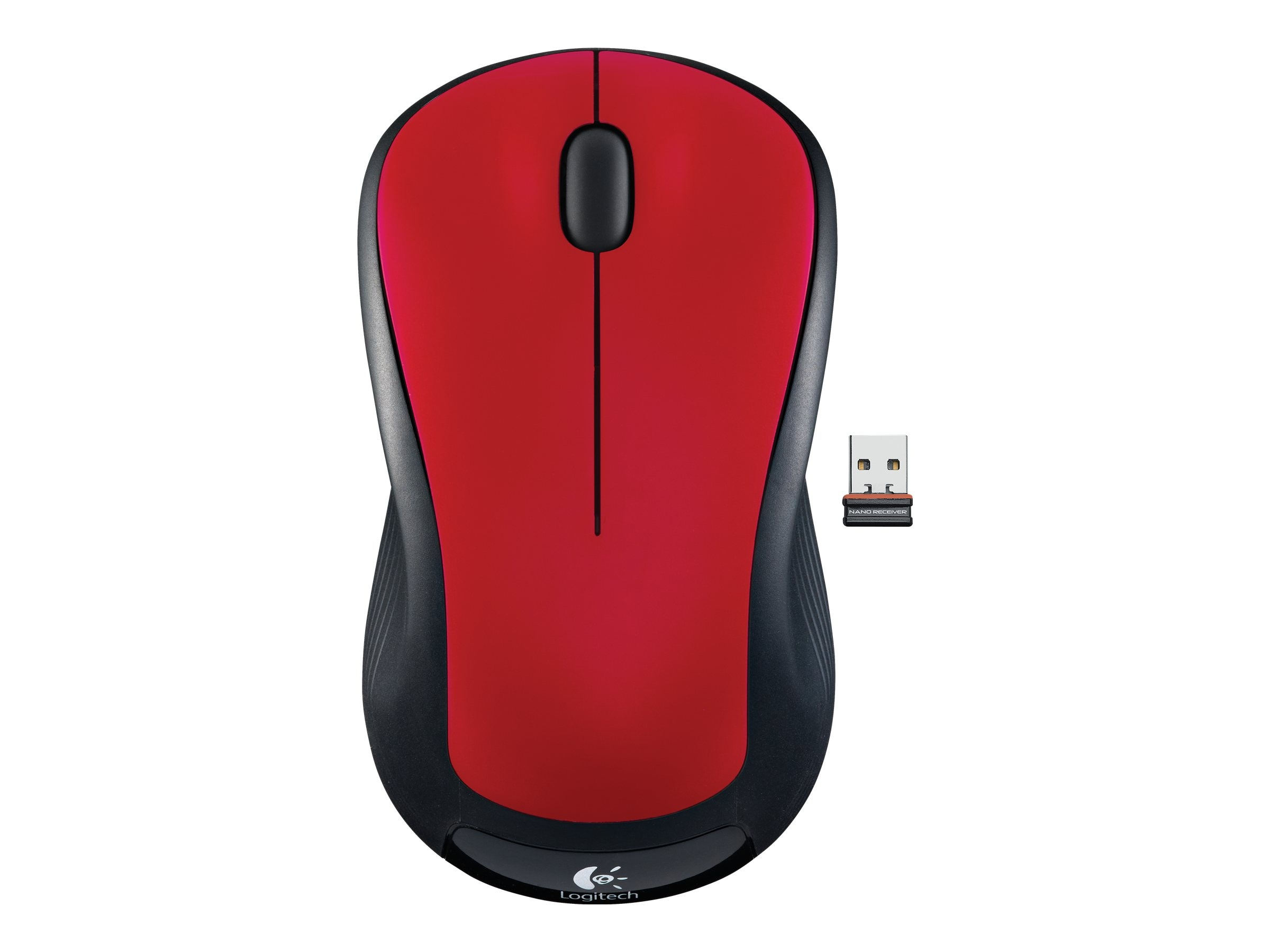 Logitech M310 Wireless Mouse, Flame Red, 910-002486, 12728904, Mice & Cursor Control Devices