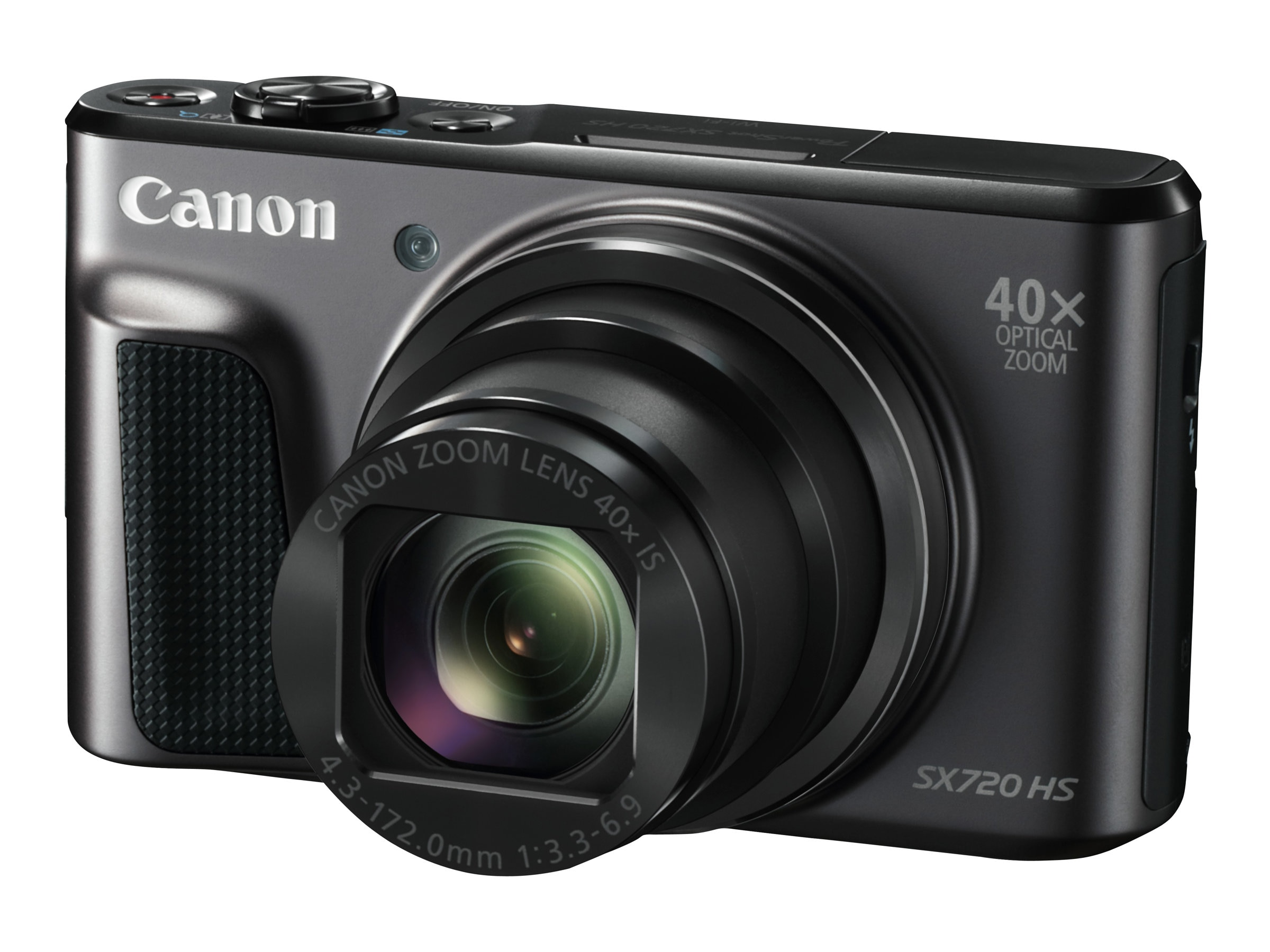 Canon PowerShot SX720 HS Digital Camera, Black