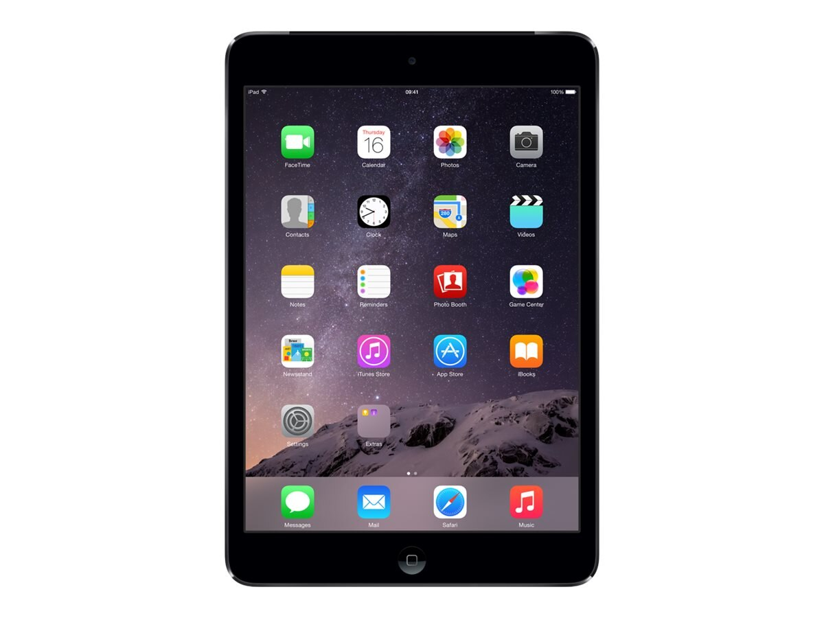 Apple iPad mini 2 Wi-Fi+Cellular for Verizon 16GB - Space Gray, MF069LL/A, 16405993, Tablets - iPad mini