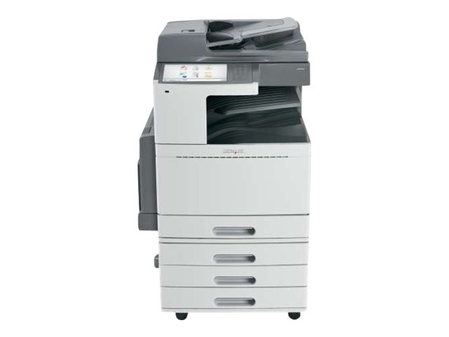 Lexmark X952dte Color Laser Multifunction Printer w  CAC Enablement & 4-Year Onsite Repair (TAA Compliant)