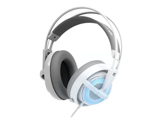 Steelseries Siberia v2 Gaming Headset, Frost Blue, 51125, 14603961, Headsets (w/ microphone)
