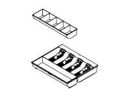 APG Till for Vasario 1416 Drawers 4-Bill 5-Coin, VPK-15B-1A-BX, 31197053, Cash Drawers