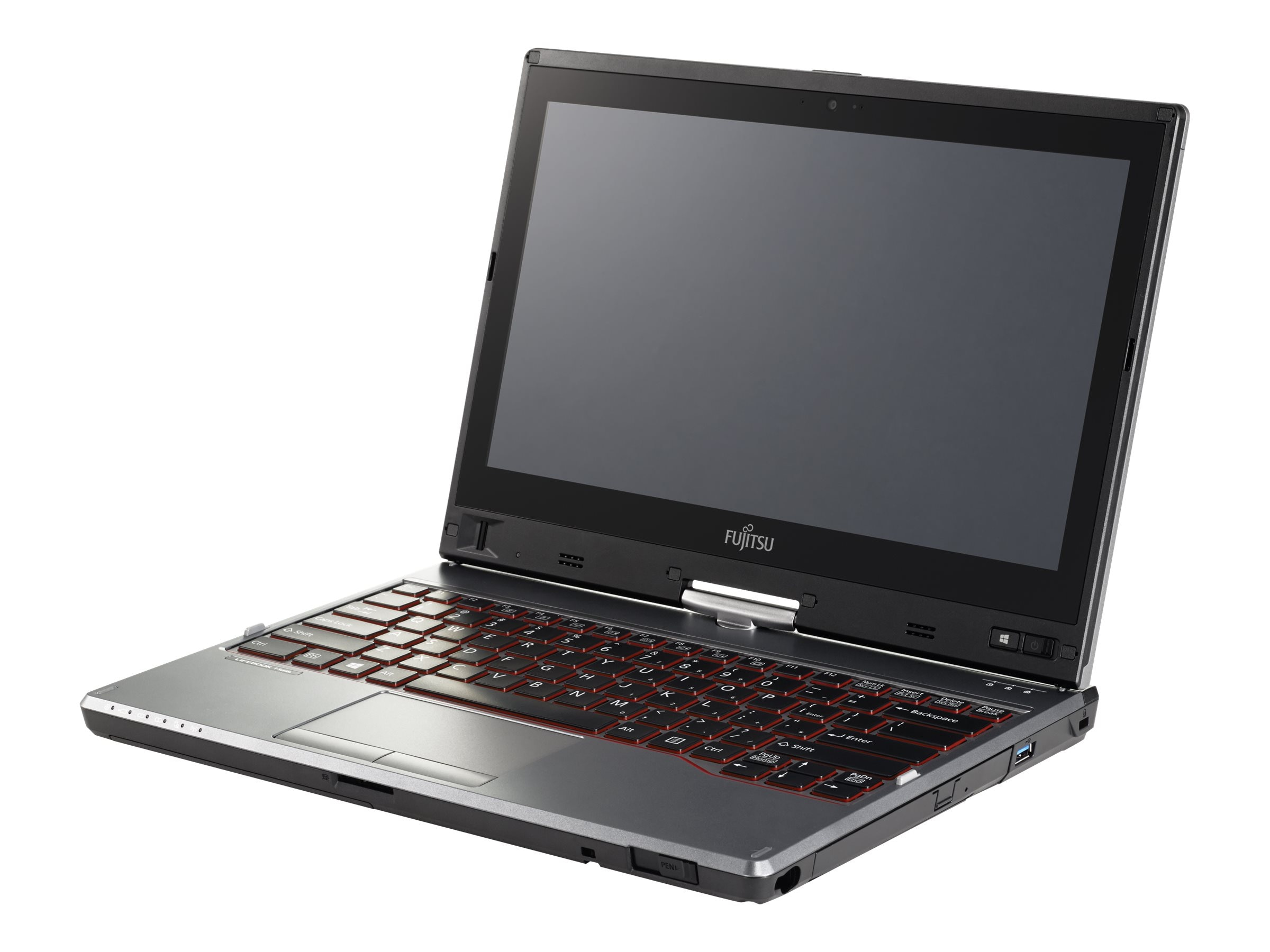 Fujitsu X-BUY LifeBook T725 Core i5-5200U 2.2GHz 8GB 128GB ac abgn BT FR WC 6C Pen 12.5 HD MT W7P64-W8.1P64, XBUY-T725-003, 18473877, Notebooks - Convertible