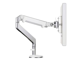 Humanscale M2 Monitor Arm with Bolt Thu Mount, Silver with Gray Trim, M2BS-IND, 17231833, Stands & Mounts - AV