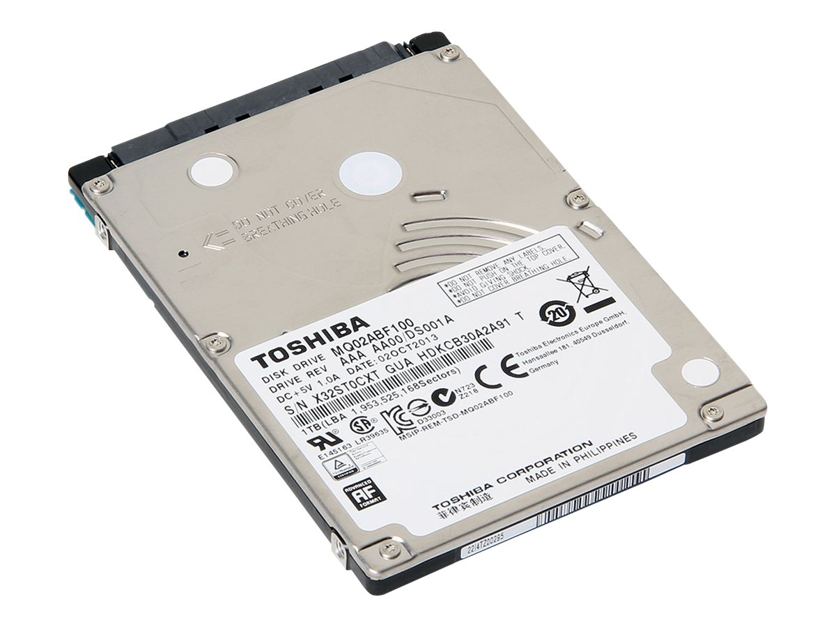 Toshiba 1TB MQ02ABF100 SATA 6Gb s 2.5 7mm Internal Hard Drive, MQ02ABF100, 16695134, Hard Drives - Internal