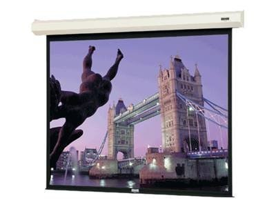 Da-Lite Cosmopolitan Electrol Projection Screen, Matte White, 16:10, 130in, 34464, 9081231, Projector Screens