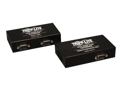 Tripp Lite VGA over Cat5 Cat6 Extender, Transmitter and Repeater, 1920x1440 at 60Hz, B130-111