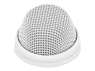 Sennheiser SpeechLine Wired Microphone Cardioid Install Boundary Mic, White, 505607, 18373420, Microphones & Accessories
