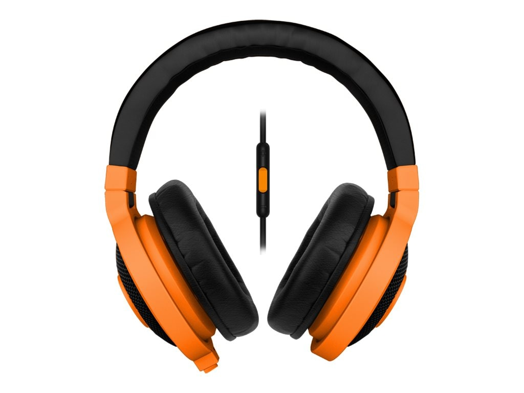Razer KRAKEN MOBILE NEON ORANGE      ACCSANALOG MUSIC & GAMING HEADSET