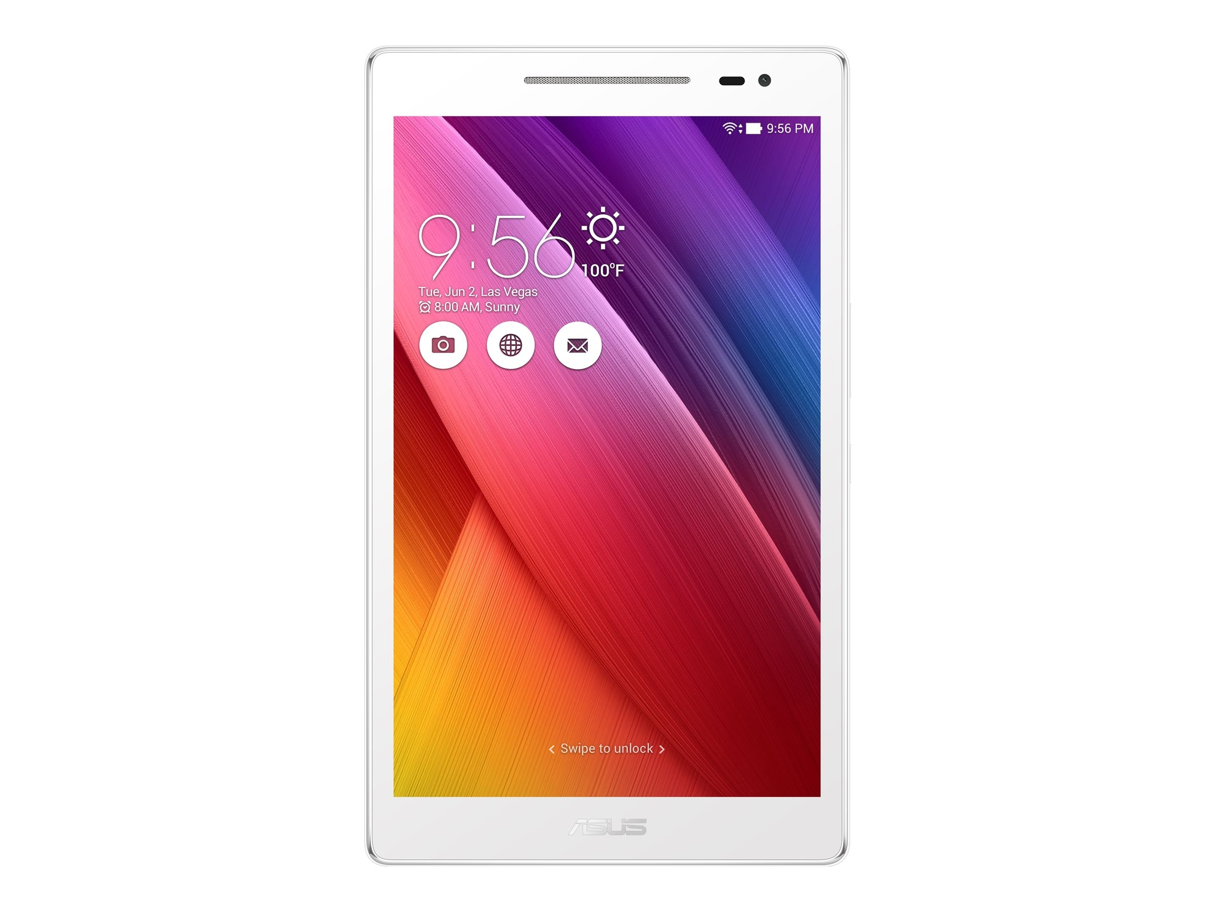 Asus Tablet PC Core Atom x3-C3200 2GB 16GB 8 White