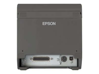 Epson ReadyPrint T20 Serial USB Thermal Receipt Printer - Dark Gray w  Power Supply, C31CD52062