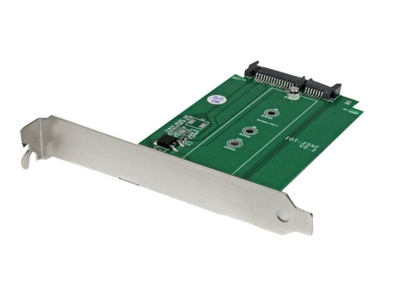StarTech.com M.2 to SATA Solid State Drive Adapter – Expansion Slot Mounted