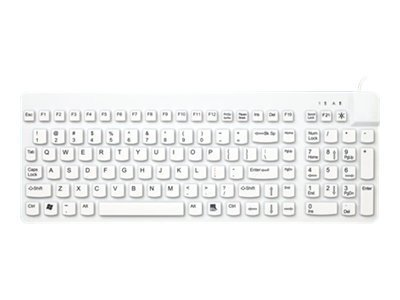 Man & Machine Washable Sealed Keyboard, PS 2, RCK/PSG2, 12460178, Keyboards & Keypads