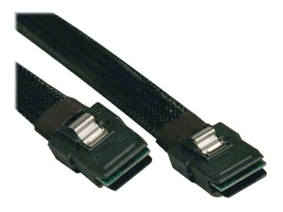 Tripp Lite Internal SAS Cable, SFF-8087 to SFF-8087, Black, 18in