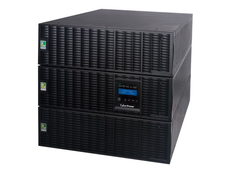 CyberPower Smart App Online 10,000VA 9000W 9U R T Pure Sinewave UPS, (18) Outlets, OL10000RT3UTF, 14531005, Battery Backup/UPS
