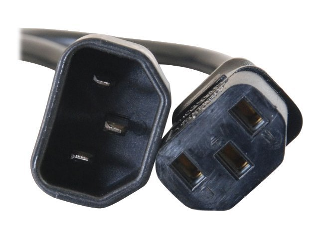 C2G Computer Power Cord Extension IEC320 C13 To IEC320 C14 15ft, 20941, 6516930, Power Cords
